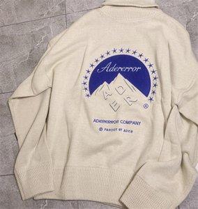 Pullover 20FW Winter Rollkragen Ader Error Pullover Männer Frau Hohe Qualität Mode Casual Company Crewneck AderError Sweatshirts
