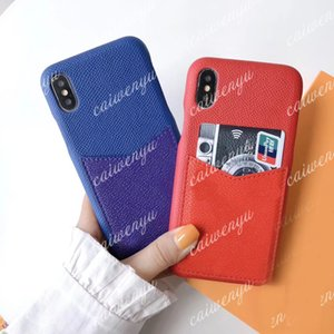 designer phone cases for iPhone 12 pro max 12 mini 11 11pro X XR XS XSMAX cover PU leather luxury case phone cover B09- #1-4