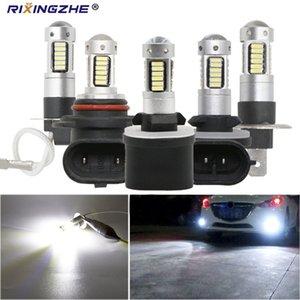 عالية الطاقة سيارة H3 LED H1 LED H27 880 881 9005 9006 HB3 HB4 30SMD السيارات الضباب مصباح drl 4014 سيارة الضباب ضوء 12 فولت المصباح 2 قطعة / المجموعة