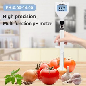 Multipurpose PH Meter Digital Acidity PH-98211 Tester Soil With White Backlight For Cheese Meat 40% Meters