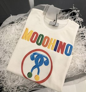2021 Fashion Kids girls T-Shirt Colorful Letter Pattern Children Baby Boys Short Sleeve Casual tees For Summer