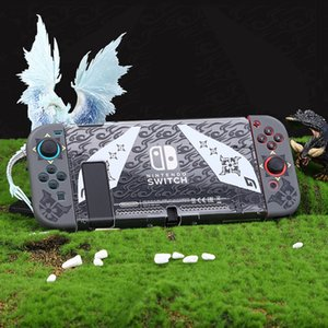 Monster Hunter Theme Case for Nintendo Switch Protective Shell PVC Hard Cover Housing NS Game Console Box For Switch Accessories