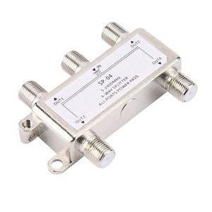 4 манеры 4 канала Спутниковая / антенна / кабельное телевидение Распространенный дистрибьютор 5-2400 МГц F Тип SP-04 Кастинг цинка