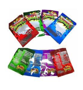 Edibles Упаковка 500 мг Dank Gammies Сумки Дверцы Медведи Кубики Gummy Оптовая Форма с заводскими смехами