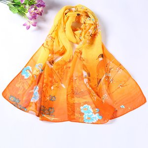 Shawls and summer butterfly magpie women Chiffon sun proof beach towel gift