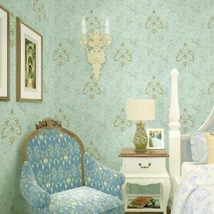 Tissu Fashion Textile sans soudure Fond d'écran 10 ans Garantie Formaldéhyde Chambre d'accueil gratuit Salon Villa Décoration Wall Covering