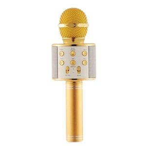 Microphones Portable Handheld Wireless Speaker Home Microphone Freely Studio Speech Sing Bar Comes With Audio