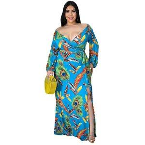 Женские платья дизайнер 2021 цвет с шитью буквы шаблон печатных дам мода повседневная осень весна граффити платья юбка