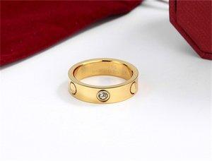 Rings silver ring Screw Couple Ring Band women men van Party Wedding Gift Love cleef Fashion Designer jewlery with box carti sadd