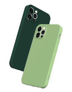 Matte macio TPU ultra fino holes precisos casos de celular para iphone 12 11 pro max mini xr xs x 8 7 6 mais