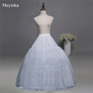 52016 Wedding Dress Crinoline Bridal Petticoat Underskirt 3 Hoops