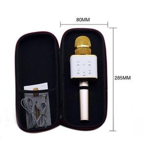 karaoke Q7 Handheld Microphone Bluetooth Wireless KTV With Speaker Mic Microfono Handheld Portable Karaoke Player free DHL