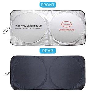 Car Sunshade For KIA Sorento Sportage Niro Rio Optima Soul Pregio Sun Shade Cover Logo Visor Windshield Sunshades UV Blind Parasol Coche