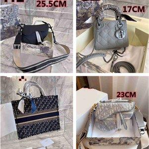 새로운 럭셔리 디자이너 브랜드 여성의 어깨 가방 패션 대각선 가방 클래식 핸드백 레트로 안장 가방