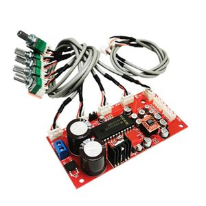 Tone Board + AD828 Preamplifier Module 3D Surround Treble And Bass Adjustable Potentiometer Separate Audio Computer Speakers