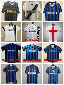 Finaller 2009 2010 Milito Sneijder Zanetti Retro Klasik Futbol Forması Pizarro Milano 97 98 99 02 03 Djorkaeff Baggio Futbol Gömlek