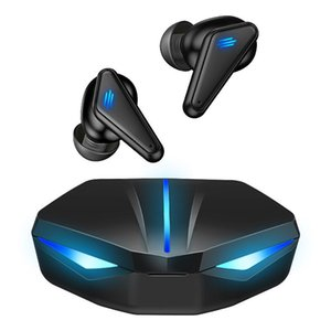 2021 New K55 TWS 5.0 Earphones 3D Surround Stereo Wireless Gaming Headphones With Mic Sports Fitness Headsets 1 Pair