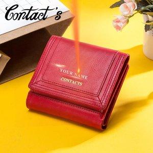 محفظة محفظة النساء محفظة مع عملة جيب بطاقة حامل جلد طبيعي محفظة السيدات حقيبة مخلب حقيبة عالية الجودة الصغيرة الإناث cartera