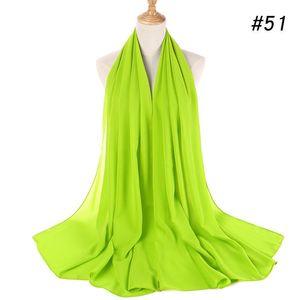 Scarves Multi-color Optional Bubble Chiffon Scarf Ethnic Turban Ladies Hijab Decoration Breathable Gauze Holiday Sunscreen Shawl D45