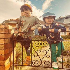 Children sweater Nadadelazos new spring summer boys girls fashion print sweatshirts baby child cotton outerwear 731 Y2