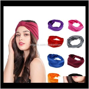 Fashion Headband For Women Polyester Elastic Yoga Sport Hair Bands European Usa Selling Wholesale Headbands Vtcli Ffup7