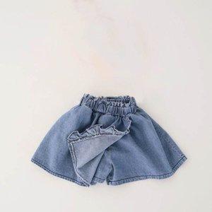 Girls Shorts Children Summer Kids Clothes Denim Soft Jeans Skirts Pants Fashion 1-6Y B4986