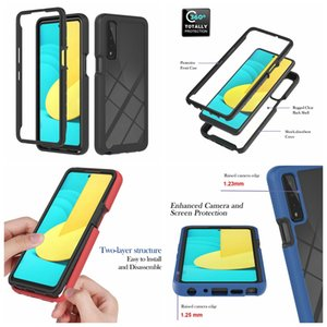 360 Full Shockproof Frame Bumper Cases For LG K52 K22 Stylo 4G Moto G Stylus 2021 Play Power G9 Motorola One 5G Ace 2in1 Hybrid Layer Hard PC TPU Non-slip Phone Covers