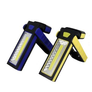 Flashlights Torches Anjoet Super Bright Adjustable COB LED Work Light Inspection Lamp Hand Torch Magnetic Camping Tent Lantern With Hook Mag