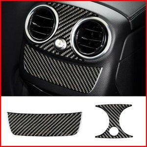 For Mercedes Benz C W205 C200 C260 Glc260 Rear Air Vent Outlet Cover Trim 2pcs