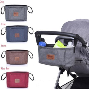 Stroller Parts & Accessories 2021 Baby Hanging Bag Durable Storage Bags Basket Pouch For Outdoor Travel