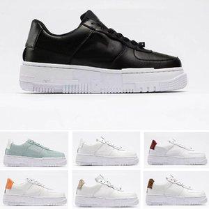 Pixel 1'07 Air Skate Shoes para hombres, mujeres, partículas, beige, cumbre, talón blanco, skateboarding, zapatillas deportivas, tamaño EE. UU. 5.5-11