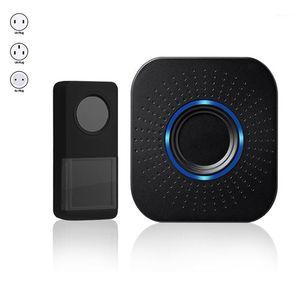 Wireless Home DoorBell Waterproof Battery Operated Loud Chime Electronic Houseware DC Mini Smart Long-distance Door Bell Doorbells1