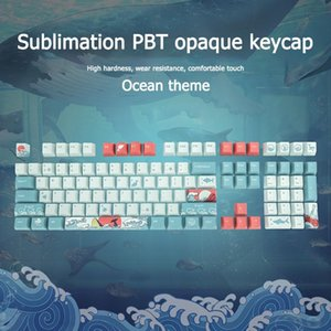 Professional Ultra-slim Keyboard Keycap Set Touchpad Inalambric For Mechanical Keyboards