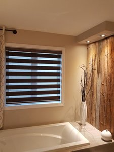 Blinds Quality Double-layer Roller Zebra Made To Order Easy Install