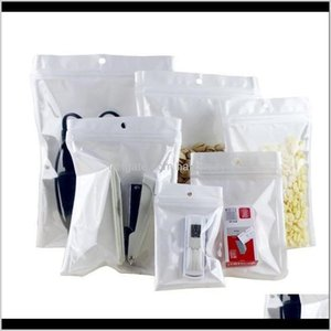 Packing 813Cm Clear White Smell Proof Mylar Plastic Zip Lock Bags Runtz Packaging Opp Bulk Gift Packages Pvc Bag Self Sealing Baggies Mrjob