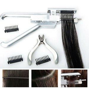 6d hair extensions machine kit tool applicator gun first generation used