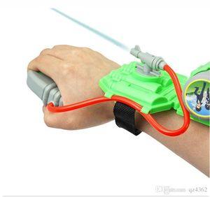 Outdoor Summer Plastic Kids Wrist Water Gun Squirt Toy Gun Water Sprinkling Water Pistol Shooter for Swimming Pool Beach