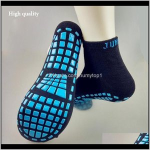 Accessories Fashion Trampoline For Child Adult The Sile Antiskid Sport Breathable Absorbent Yoga Sock Fitness Boat Socks Tlb4E Djolo
