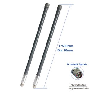 5dbi High Gain 433Mhz Outdoor Aerial 420-470Mhz Omni Fiberglass Antenna With N Male Connector