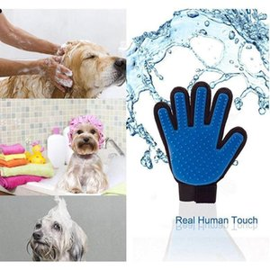 Home & Garden Drop Delivery 2021 Grooming Glove Hair Removal Mitts De-Shedding Brush For Dog Horse Mas Combs Pet Supplies Cat Accessoies 0Tqn