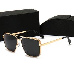 Tasarımcı Güneş Gözlüğü Metal Malzemeler Moda Bayanlar Yüksek Kalite Polarize 5 Stilleri