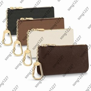 KEY POUCH Wallets Luxurys Designers France style men women lady leather coin purse Credit Card M62650