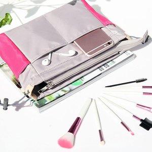 Travel Organizer Insert Bag Women Nylon Organizer Handbag Purse Large Lady Makeup Cosmetic Bag Cheap Female Wash