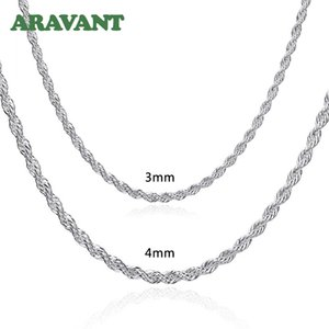 Twist Necklace Chain For Men Women Fashion Jewelry
