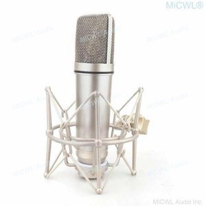 Mic U87 Condenser Studio Large Diaphragm Anchor Microphone Live Set For Vocal Recording Broadcasting Microphones
