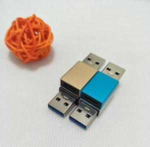 Tipo C Fêmea para USB 3.0 masculino banhado a ouro Cables Conversor Adaptador Conversor para Smartphone