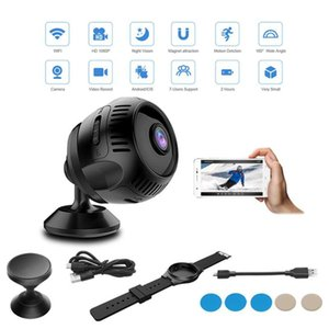 Mini Camera Wireless WiFi Hidden Night 1080P Motion Detection Alerts With Cell Phone App Stand 2 USB Charger Cables Camcorders