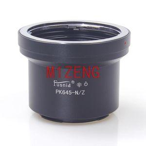 Lens Adapters & Mounts Pk645-Nik Z Adapter Ring With Tripod For Pk645 To Z6 Z7 NZ Z50 Mirrorless Camera Body