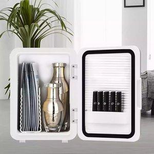12V Mini Portable Car Refrigerator Freezer Multi-Function Power Saving Home Fridge