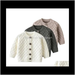 Baby, Kids & Maternity Drop Delivery 2021 Ins Sweaters Single Breasted Infant Cardigan Long Sleeve Born Knitted Sweater Fashion Coat Boutique